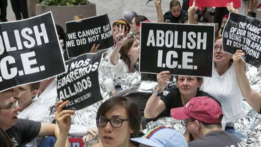 Democrats abandon 'abolish ICE' movement; panel debates on 'The Story.'