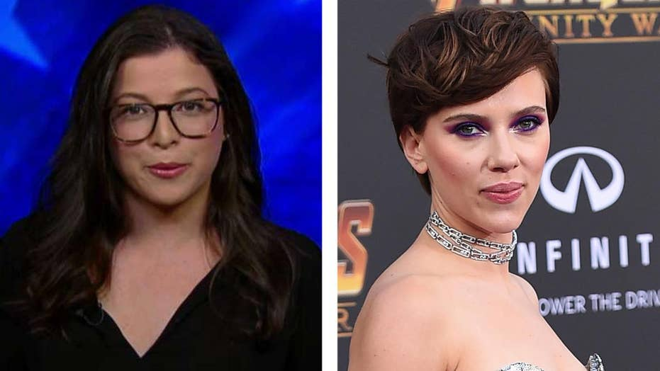 Writer defends Johansson's transgender role, is censored