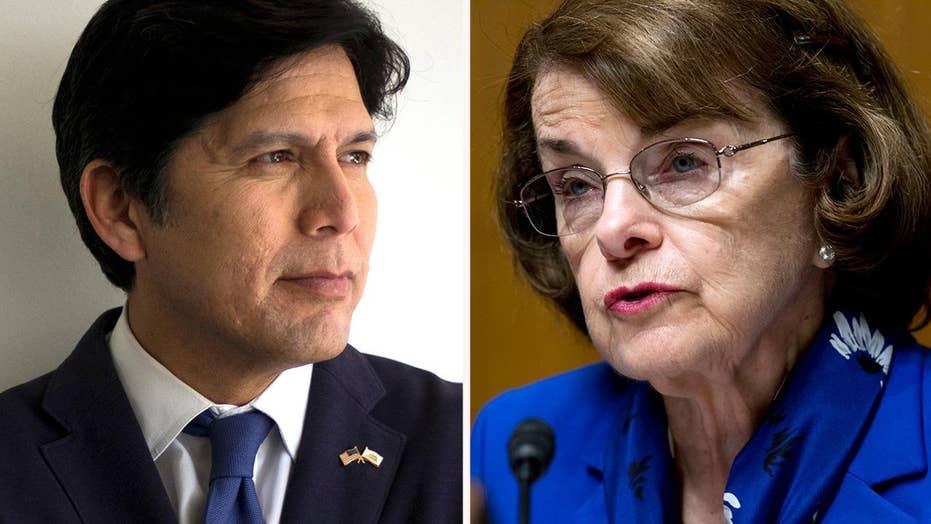 California Democrats endorse Feinstein challenger