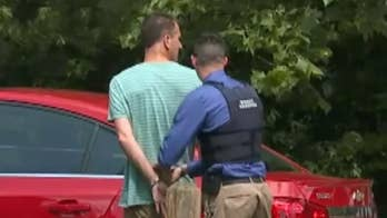 Raw video: Police arrest forty-one year-old Jason Howard outside his home. Howard is accused of stealing fentanyl from ambulances.