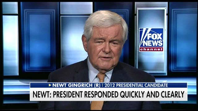 Gingrich 'Delighted' By Trump's Russia Summit Clarification