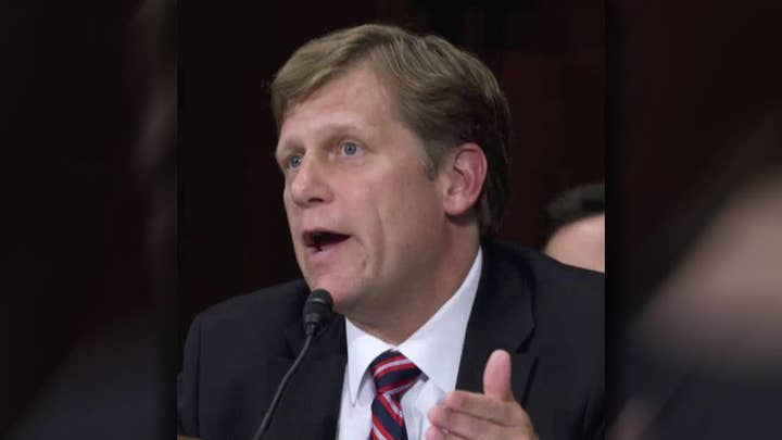 Russia wants to question former Amb. Michael McFaul