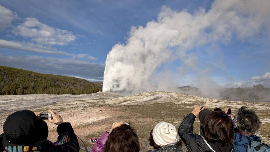 Dangerous fissure opens near Yellowstone supervolcano