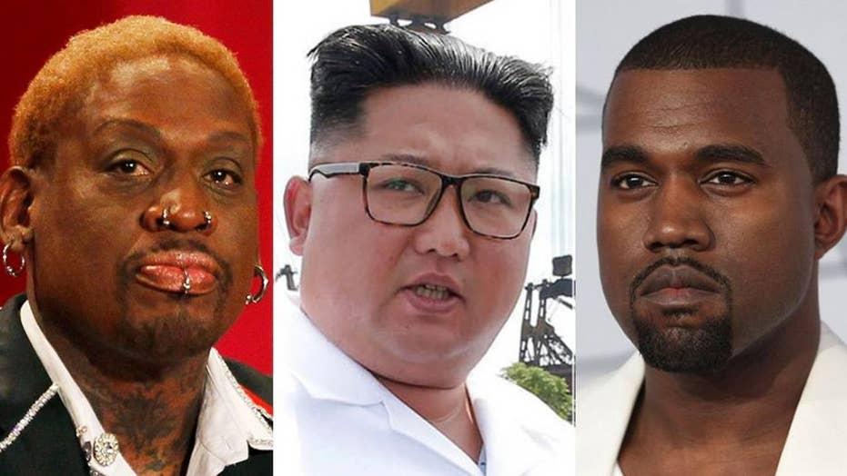Dennis Rodman wants to bring Kanye West to North Korea