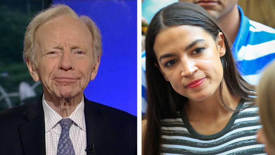 Lieberman urges voters to reject Ocasio-Cortez's candidacy