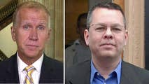 North Carolina senator praises President Trump's 'steadfast' support to free Pastor Andrew Brunson.