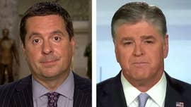 "The timing of the Justice Department's indictment of 12 Russian intelligence agents last week was ""very hard to believe,"" House Intelligence Committee Chairman Devin Nunes said on ""Hannity"" Wednesday."