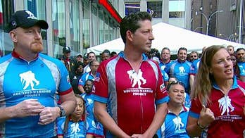 Wounded Warrior Project's cycling event helps America's heroes overcome challenges.