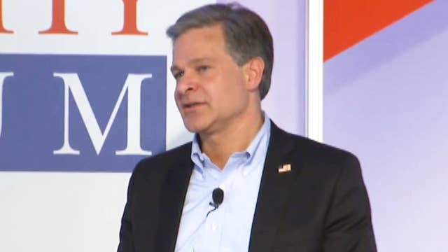 FBI Director Wray: I don't believe Mueller is on witch hunt thumbnail