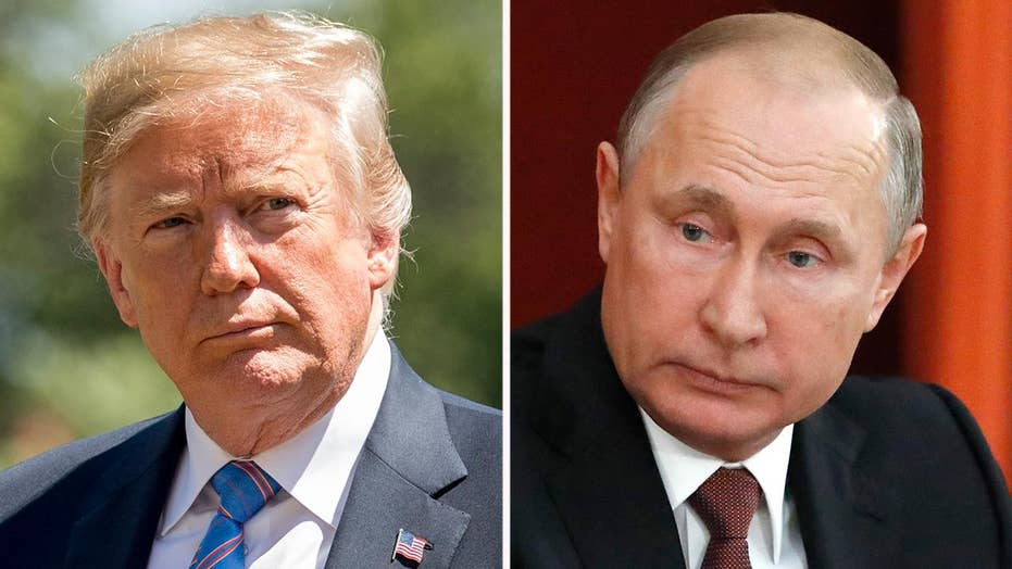 Trump says he holds Putin responsible for Russian meddling