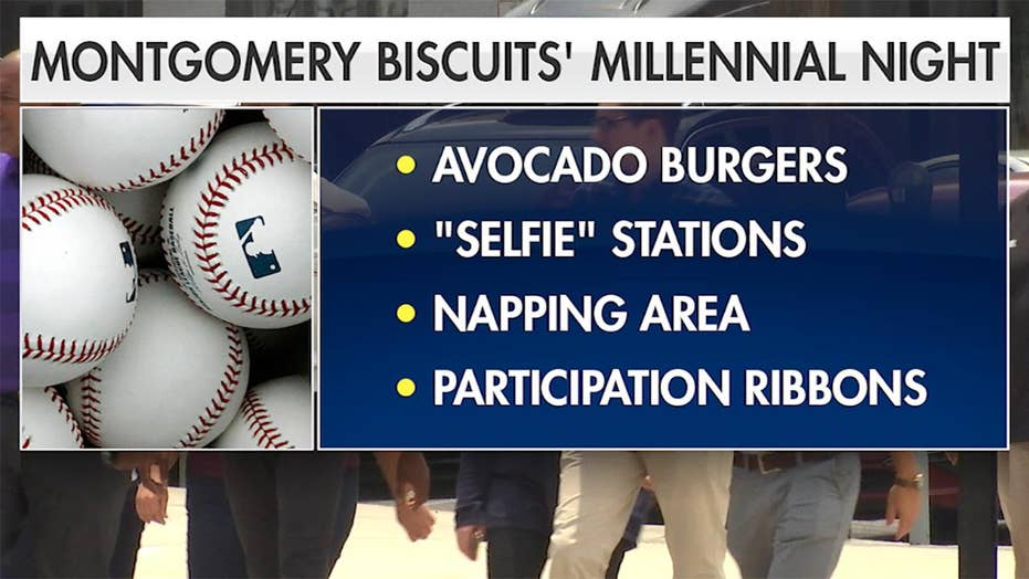 'Millennial Night' baseball game triggers Twitter debate