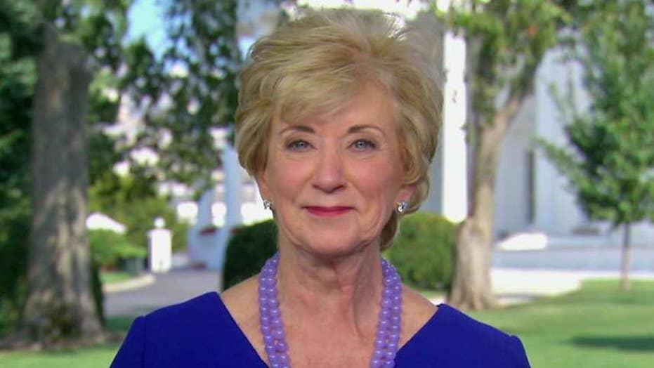 Linda McMahon on Trump's executive order for job training