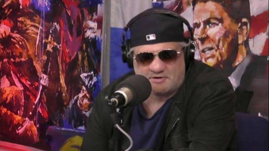 Artie Lange shares picture of 'hideously deformed' nose due to