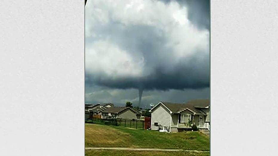 Tornadoes rip through central Iowa