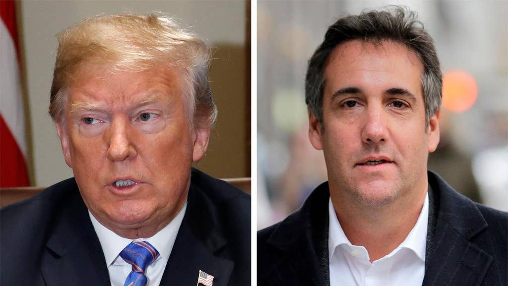 Trump slams Cohen's 'perhaps illegal' taping of call about Playboy model