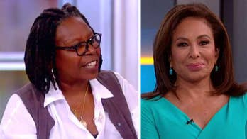 After a heated exchange on 'The View,' Judge Jeanine Pirro says co-host Whoopi Goldberg confronted her backstage and said, 'f--- you, get the f--- out this building.'