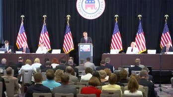 Republican National Committee members say their focus is on economy, jobs.