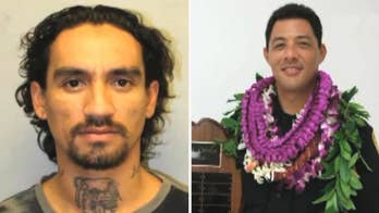 Officer Bronson Kaliloa was shot and killed after he stopped a vehicle driven by 33-year-old Justin Waiki.