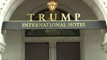 Neighborhood group files a formal complaint with D.C.'s Alcoholic Beverage Regulation Administration challenging the Trump International Hotel's liquor license; Doug McKelway reports.