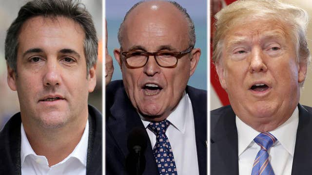 Giuliani says Cohen tape shows Trump did nothing wrong