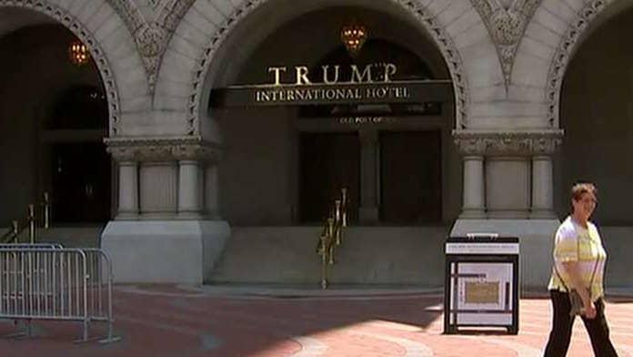 foxnews.com - Adam Shaw - DC commissioners fight to revoke Trump Hotel liquor license