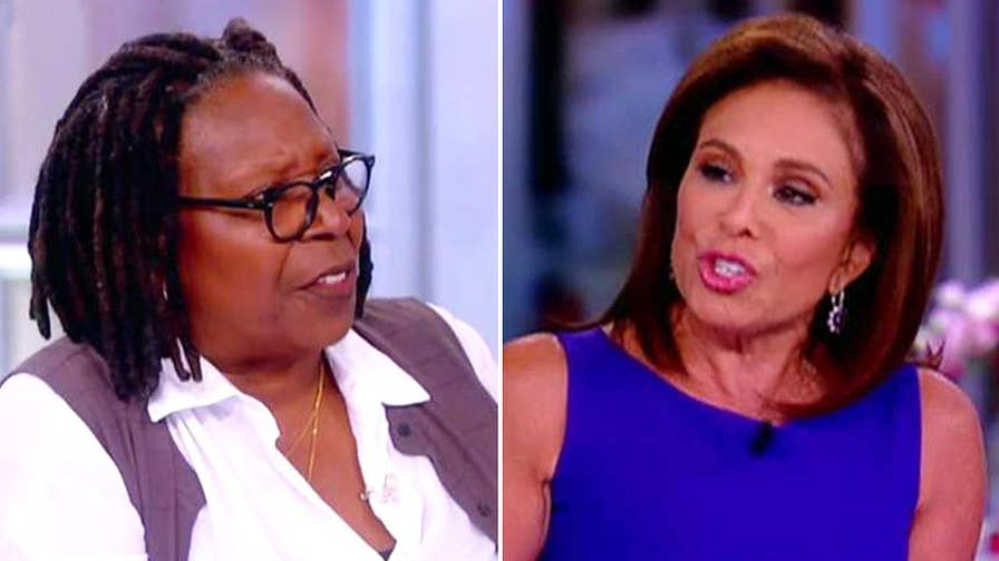 Judge Jeanine Pirro visited 'The View' to promote her new book when Whoopi Goldberg abruptly ended the fiery segment; the 'Justice' host speaks out about the experience on 'Hannity.'
