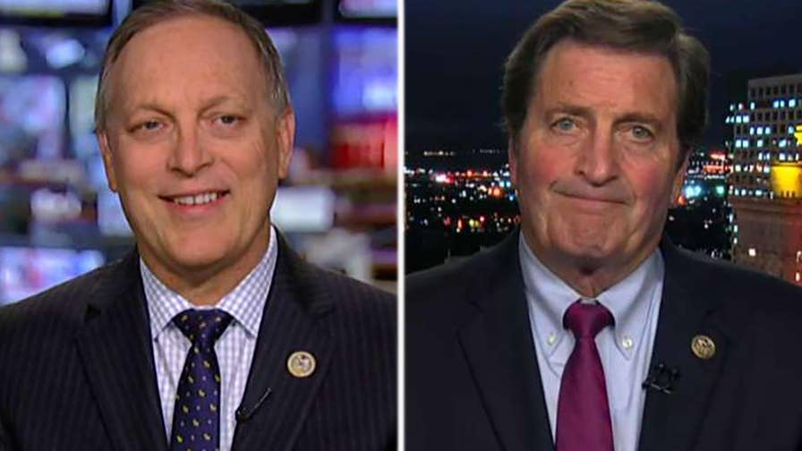 Democrats want to know what was said during private meeting between Trump and Putin; Reps. Andy Biggs and John Garamendi weigh in on 'The Ingraham Angle.'