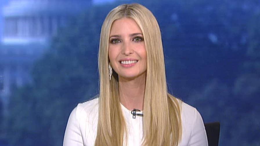 Program will provide at least 3.8 million new career opportunities for students and workers; president's senior adviser Ivanka Trump explains on 'Fox & Friends.'