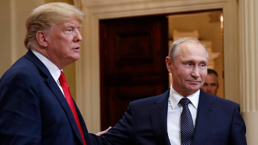 Trump says he'll be Putin's 'worst enemy' if U.S.-Russia relations 'don't work out.' Kevin Corke reports from the White House.