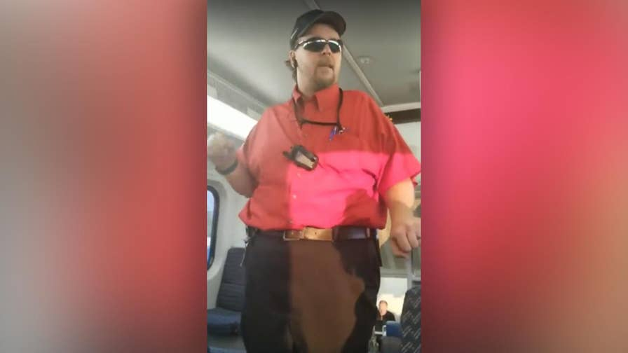 A Utah Transit Authority employee allegedly confronted a group of young women for using a restroom together.