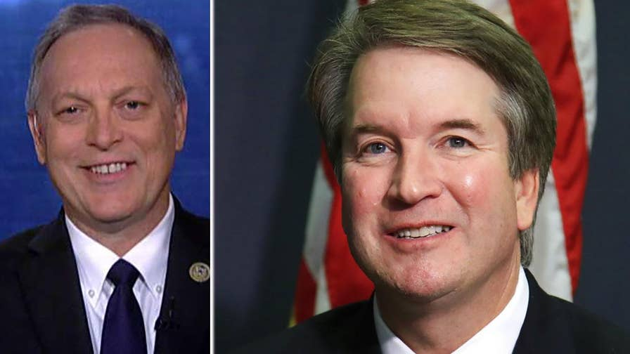 President Trump's Supreme Court nominee Brett Kavanaugh is under pressure from Senate Democrats to turn over more documents from his time in the Bush White House; reaction from Rep. Andy Biggs.
