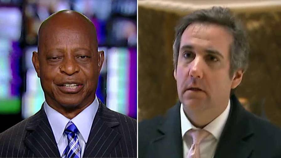 Fox News contributor Ted Williams reacts to reports that Michael Cohen secretly taped discussions with Trump.