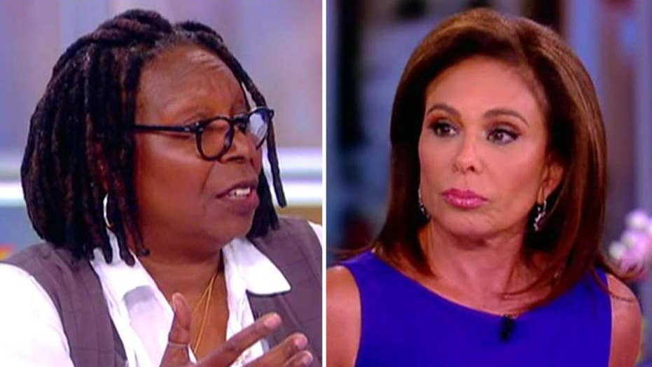 Whoopi lashes out at Judge Jeanine