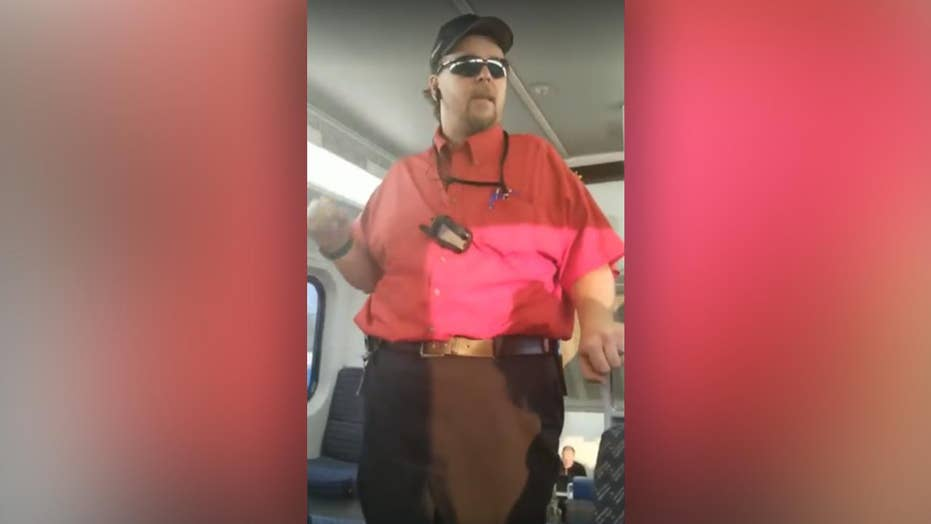Video catches confrontation between train worker, passengers