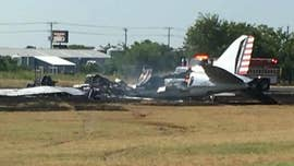 A C-47 twin engine prop plane crashed at Burnet Municipal Airport in Burnet, Texas, on Saturday.