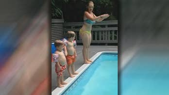 Viral video of diving lesson mishap.