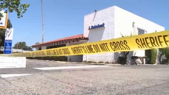 Police discover a robbery suspect inside a Goleta, California business deceased with a single gunshot wound.