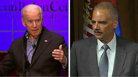 Holder, Biden considering 2020 presidential run