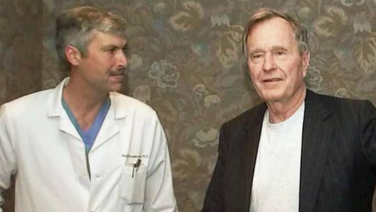 Dr. Mark Hausknecht, a cardiologist who once treated former President George H.W. Bush, was gunned down while riding bicycle.