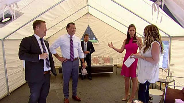 'Fox & Friends' gives 'glamping' a try