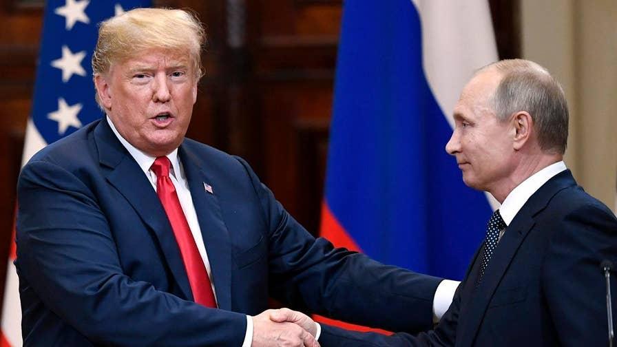 President Donald Trump hopes to host Russian President Vladimir Putin in Washington this fall; Gen. Jack Keane reacts.