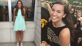 Authorities in central Iowa are searching for a University of Iowa student who was reported missing on Wednesday after she went out for an evening jog.