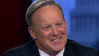 Spicer says reporters seek cable stardom.