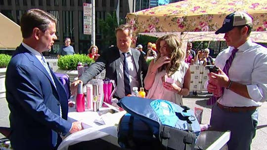'Fox and Friends' experiences the finer things in life with luxury camping gear.
