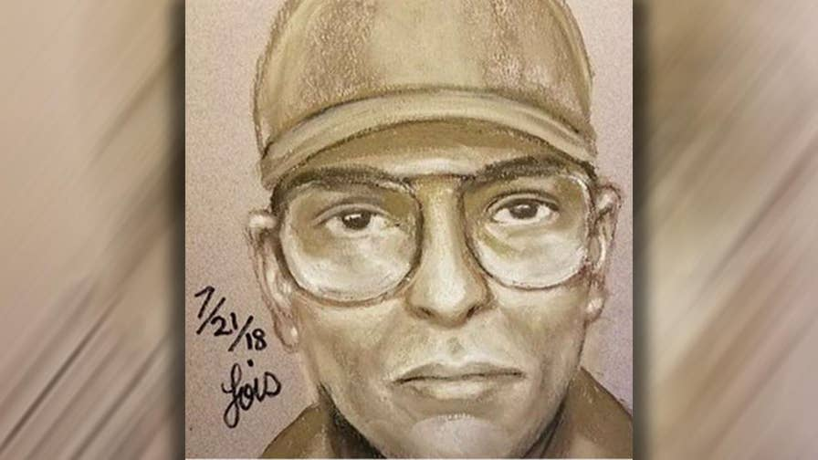 Authorities have released a sketch of a man they suspect of shooting and killing a former doctor for George H.W. Bush.