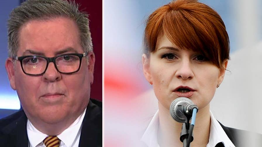 Russian foreign ministry calls for release of accused spy Maria Butina; Robert Driscoll, attorney representing Butina, shares insight on 'America's News HQ.'