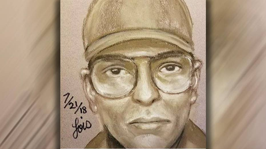 Sketch of former Bush doctor's suspected murderer released