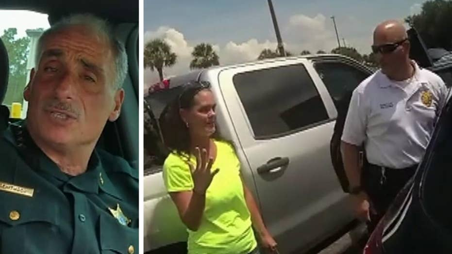 Florida Sheriff thanks woman for saving infant's life
