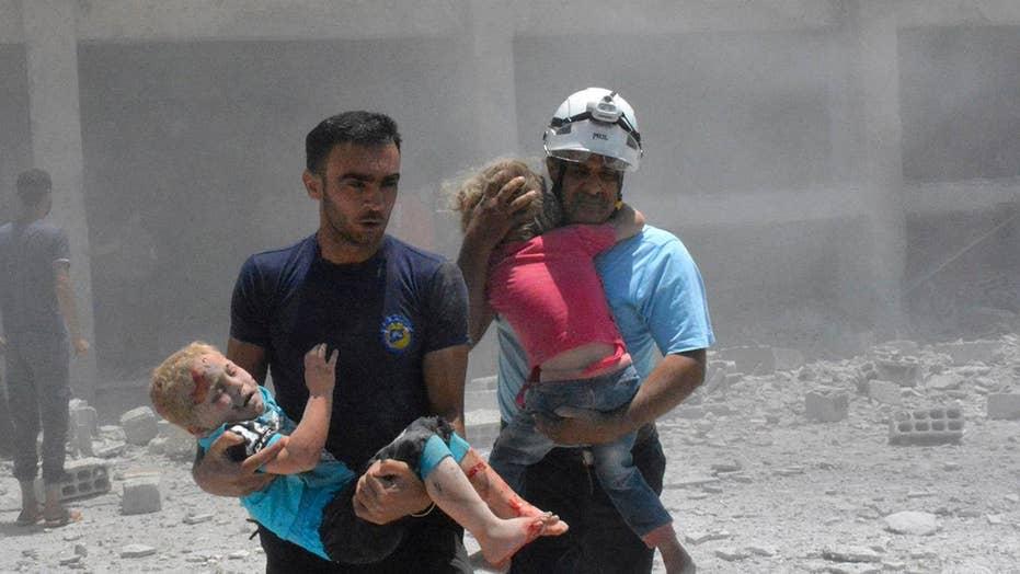 Israeli military evacuates White Helmet fighters from Syria