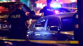 One killed, 13 injured in shooting in Greektown district.
